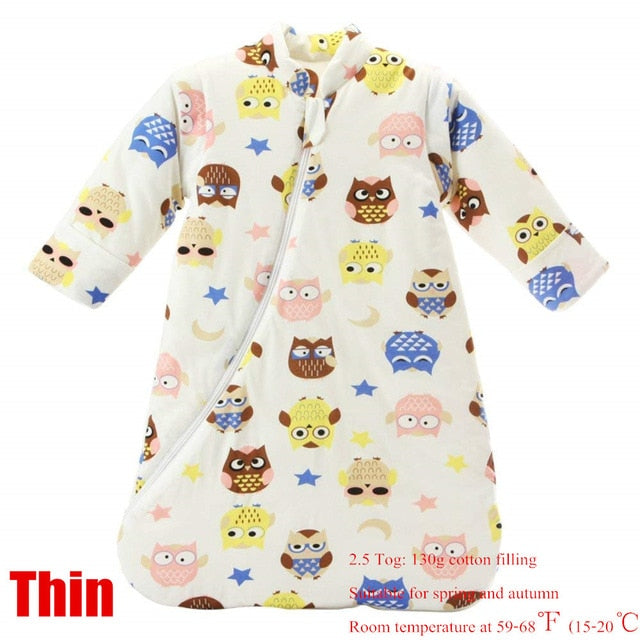 Newborn Sleeping Bag Spring and Autumn Winter Cotton Sleeping Bag Baby Anti-kick Baby Cotton Sleeping Bag - hellomybb