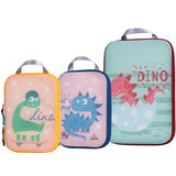 New Diaper Bag Inner Container Travel Packing Organizers 3pcs Compression Packing Cubes for Carryon Luggage - hellomybb