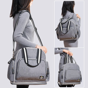 Shoulder Diaper Bag Large Capacity Maternity Hand Grey Baby Bag online shop - hellomybb