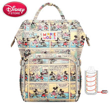 Load image into Gallery viewer, Disney Diaper Bag Backpack USB Bottle Insulation Baby Nappy Bags Minnie Mickey - hellomybb