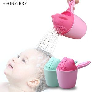 Baby Bath Toddler Shampoo Cup Children Bathing Shower Spoons Child Washing Hair Cup Kids Bath Tool - hellomybb