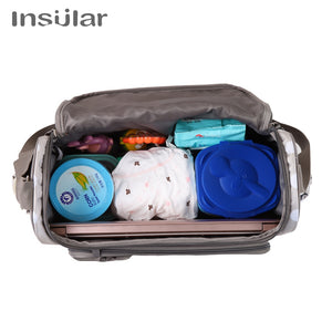 Cute Bow-knot Baby Diaper Bag Nappy Bags Waterproof Messenger/Tote for Mummy Dad - hellomybb