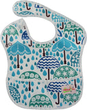 Baby Bibs Waterproof Newborn Baby Slabbers Baby Eating and Feeding Long Sleeve - hellomybb