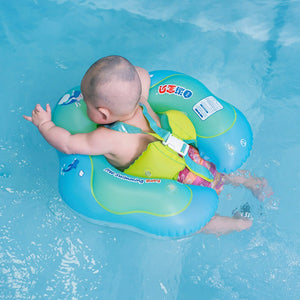 Baby Swimming Ring Inflatable  Floating Kids Swim Pool Double Raft Rings Toy - hellomybb