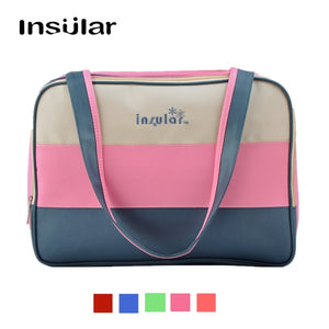 Canvas Antibacterial Large Diaper Bag Tote Messenger Mummy Nappy Bags Travel Waterproof Durable - hellomybb