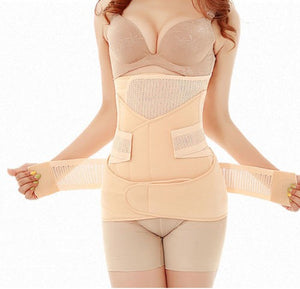 Belly/Abdomen/Pelvis Postpartum Belt Body Recovery Shapewear Belly Waist Trainer Corset - hellomybb