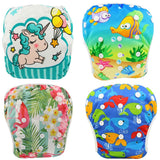 Baby Swim Diaper Waterproof Adjustable Pool Washable Baby Nappies - hellomybb