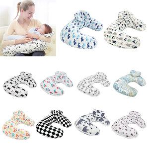 Baby Nursing Pillows Maternity Baby U-Shaped Pillow Infant Cuddle Cotton Feeding Waist Cushion - hellomybb