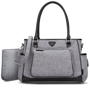 Diaper Bag Attached Changing Pad Maternity Baby Diaper Tote Bag Portable - hellomybb