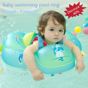 Baby Swimming Pool Accessories Swimming Inflatable Ring Baby Float Safety Strap Swim - hellomybb