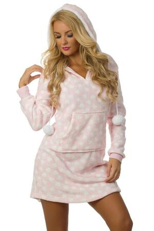 Key To My Heart Robe - LingerieDiva