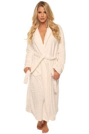 Cozy Long White Robe