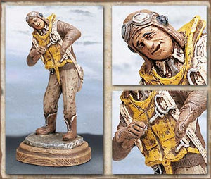 """AND THERE I WAS"" Statue - Handpainted"