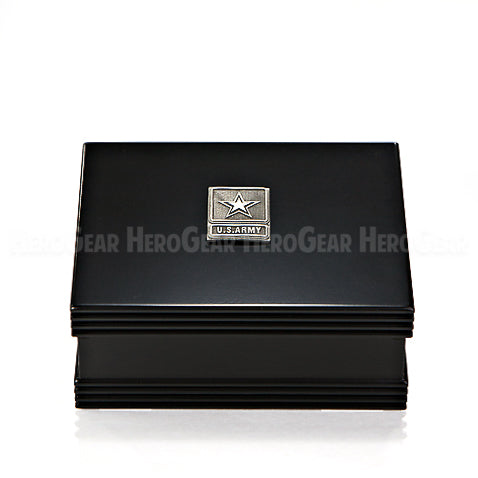 Groovy Wood Box - Black