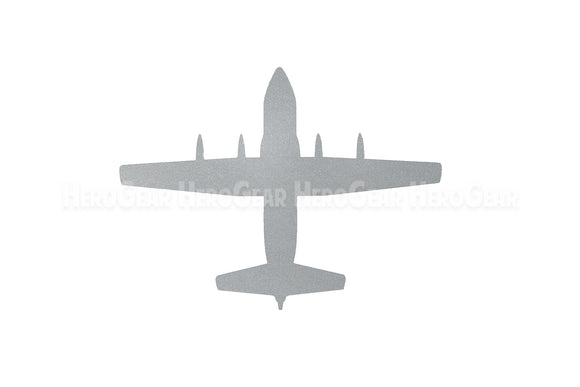 C-130 Hercules Top View Vinyl Decal