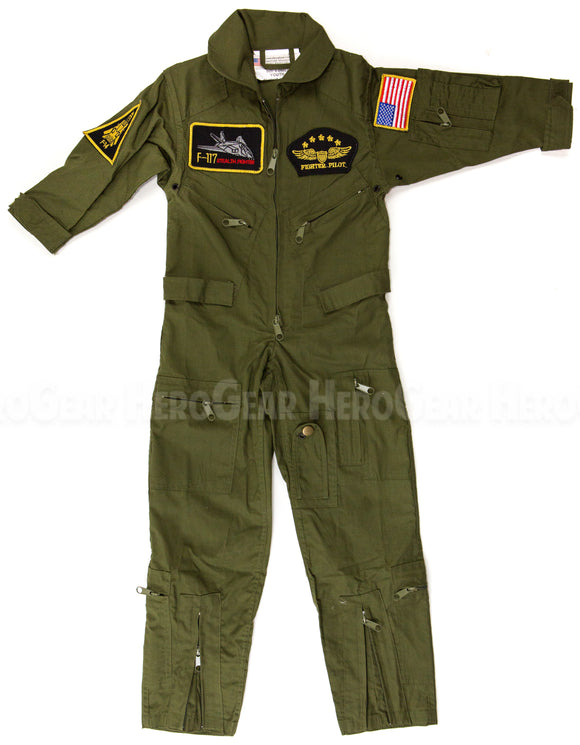 Children's Flight Suit WITH Patches