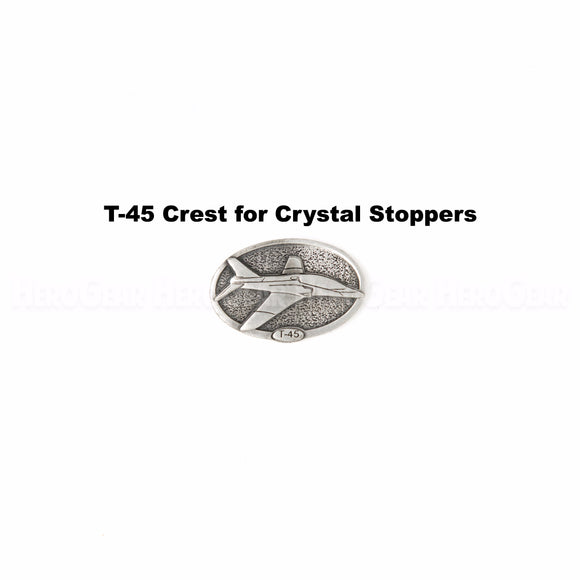 T-45 Goshawk Crystal Bottle Stoppers