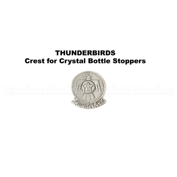 U S Air Force Thunderbirds Crystal Bottle Stoppers
