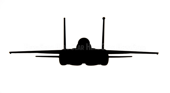 F-15E Strike Eagle Front View Vinyl Decal