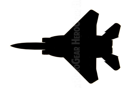 F-15 Eagle/Strike Eagle Top View Vinyl Decal