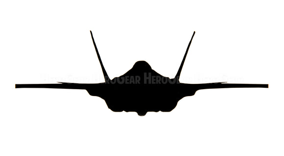 F-35 Lightning Front View Vinyl Decal
