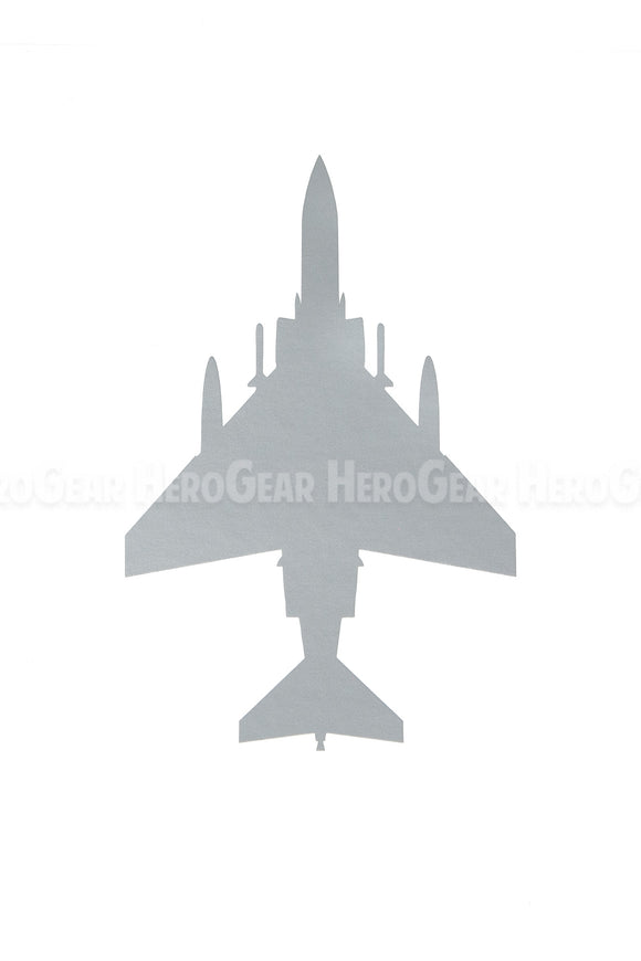 F-4 Phantom Top View Vinyl Decal