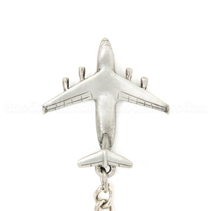 C-17 Globemaster 3D Pewter Key Chain or Bag Pull