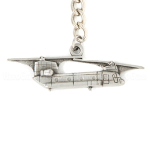 CH-47 Chinook 3D Pewter Key Chain or Bag Pull