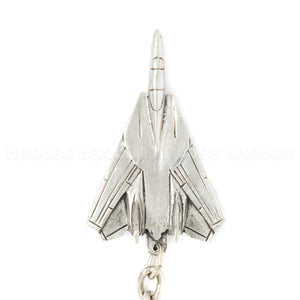 F-14 Tomcat 3D Pewter Key Chain or Bag Pull