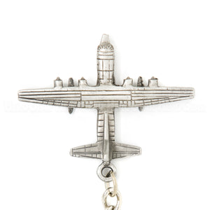 MC-130 Combat Talon 3D Pewter Key Chain or Bag Pull
