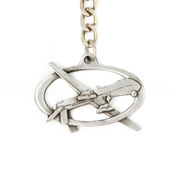 MQ-1 Predator RPA Pewter Key Chain or Bag Pull