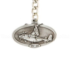 MV-22 Osprey Pewter Key Chain or Bag Pull