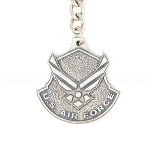 U. S. Air Force Emblem Pewter Key Chain or Bag Pull