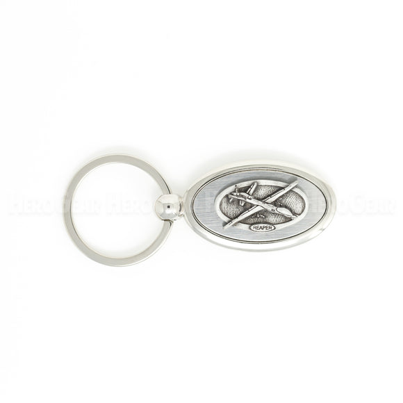 53 Military Aircraft - Oval Crested Key Chains