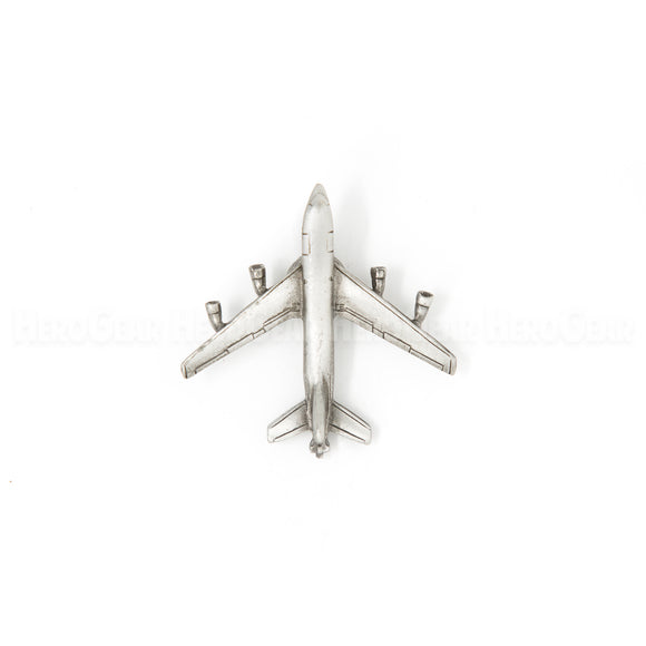 KC-135 Stratotanker (with boom) Pewter Magnet