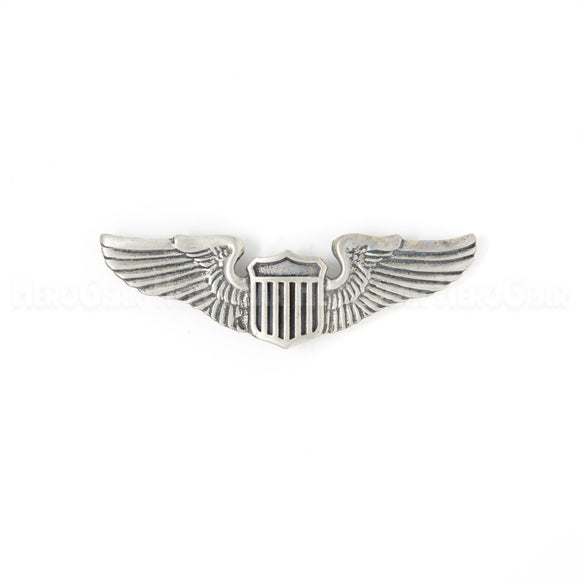 USAF Pilot Wings Pewter Magnet