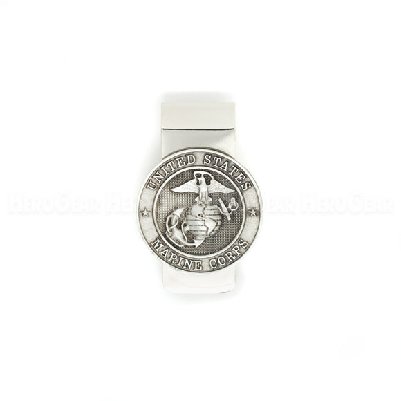 Marine Corps Globe and Anchor Money Clip