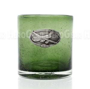 Northern Lights SAGE Double Old Fashioned, Large Crest