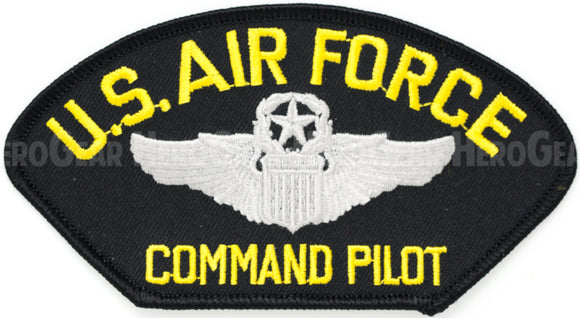 US Air Force Command Pilot Patch