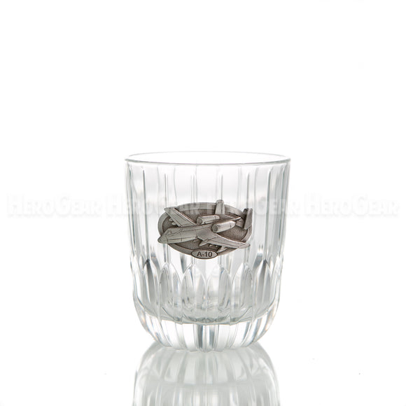 Runway Double Old Fashioned, Large Crest