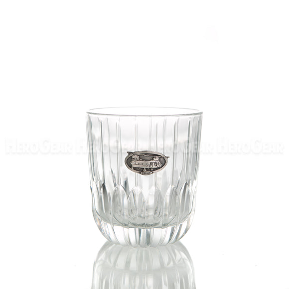 Runway Double Old Fashioned, Small Crest