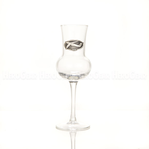 SALUTE Grappa Glass