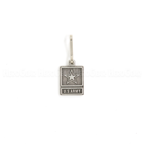 U. S. Army Star Small Zipper Pull