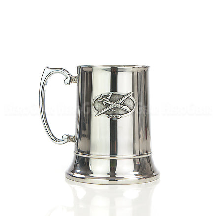 Stainless Steel Scroll Handle Tankard