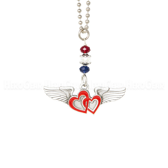 Sweetheart Wings Rear View Mirror Hanger