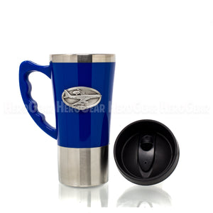 Acrylic Exterior BLUE Travel Mug