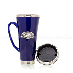 Ceramic Exterior BLUE Travel Mug
