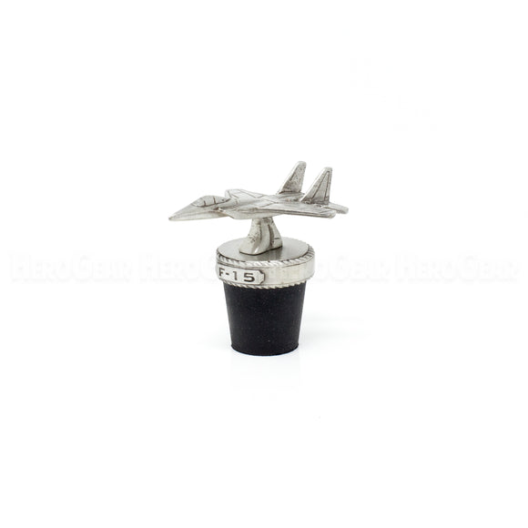 F-15 Eagle Fighter Wine Corks and Bottle Stoppers