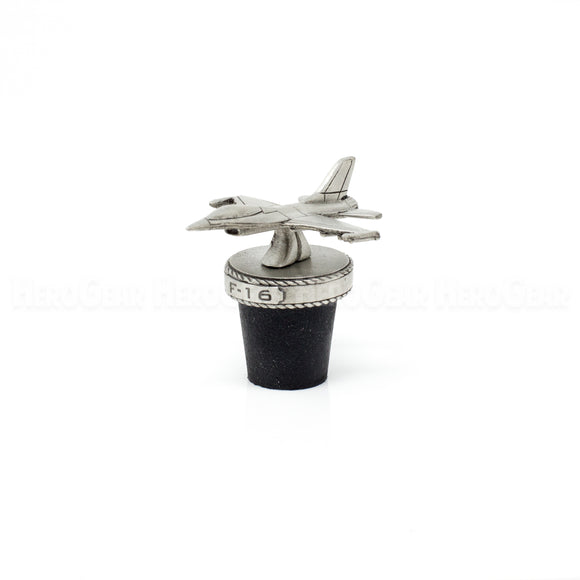 F-16 Fighting Falcon Wine Corks and Bottle Stoppers
