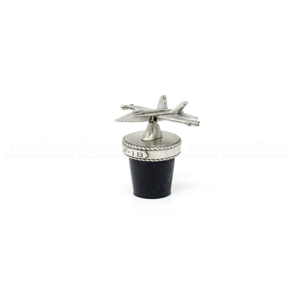 F-18 Hornet Fighter Wine Corks and Bottle Stoppers